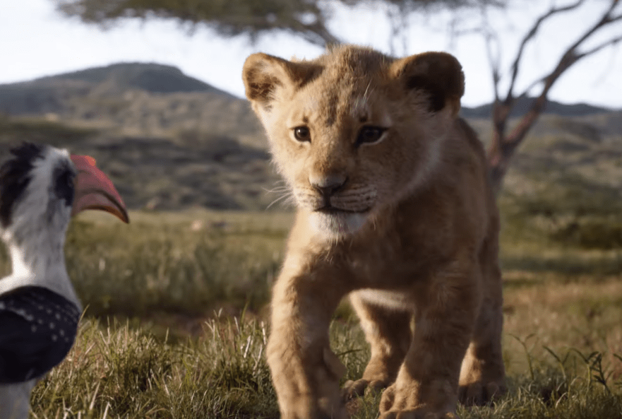 disney unveils first full length lion king movie trailer