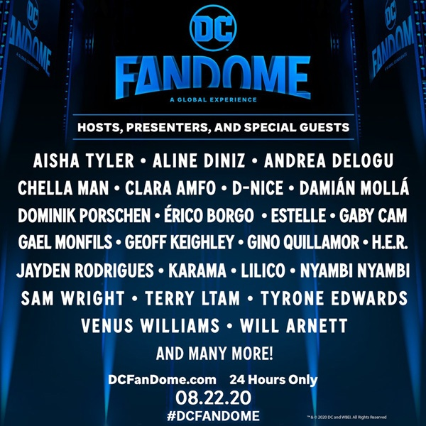 DC FanDome - Save the Date